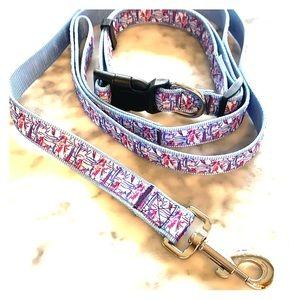 Dog Collar & Leash Lilly Pulitzer
